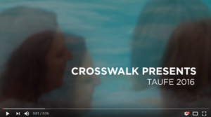CrossWalk Taufe
